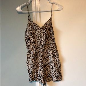 Other - Leopard Romper